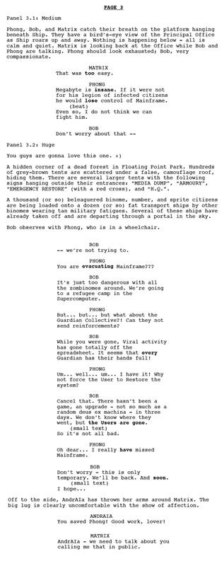 Tutorial On Writing A Comic. How To Write A Comic Script Basics ...