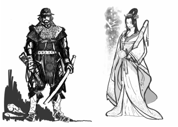 Draw Clothing, Fabric or Metal Armor for Comic Characters