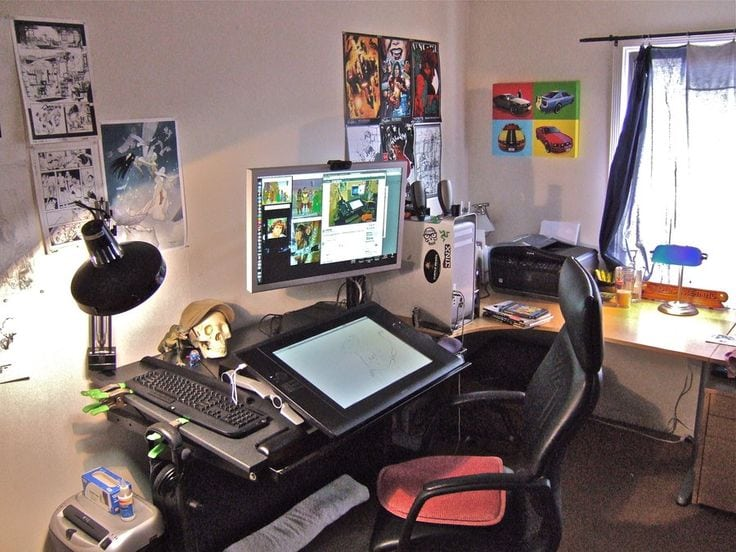 Setting Up Your Workplace/Studio Part 2