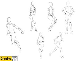 Drawing Basics – Human Figure & Head
